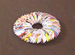何と驚き!チラシで鍋敷きが ... : 折り紙工作 作り方 : 折り紙