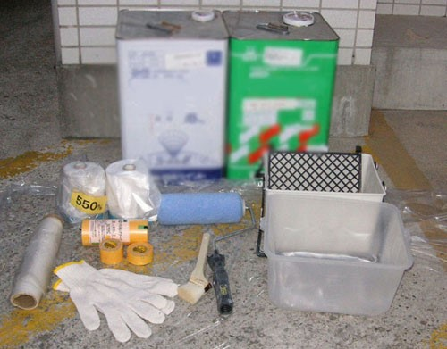 お部屋のクロス塗装に必要な道具